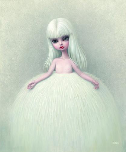 Girl-in-a-fur-skirt