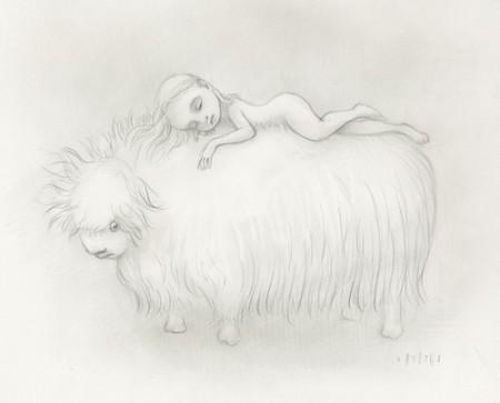 Girl-sleeps-on-yak-450x363